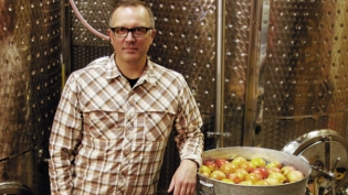 Chris Blanchard of Longdrop Cider