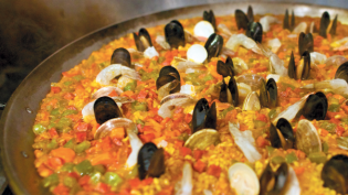 The Basque Market's Simple Mixed Paella